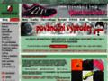 Náhled webu Sosnoviny