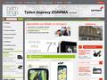 Náhled webu PalmPC