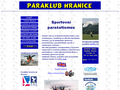 Náhled webu Paraklub Hranice
