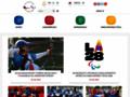 Náhled webu Český paralympijský výbor