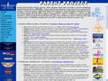Náhled webu Parent Project - svalová dystrofie