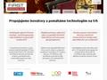 Náhled webu Virtuální Inovační Park