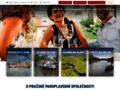 Náhled webu Pražská paroplavební společnost