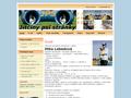 Náhled webu Jitčiny psí stránky