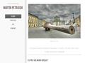 Náhled webu Martin Petrásek