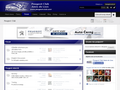 Náhled webu Peugeot Club Cz/Sk
