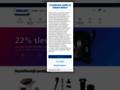 Náhled webu Royal Phillips Electronics Česká republika