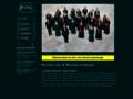 Náhled webu Piccolo coro a Piccola orchestra