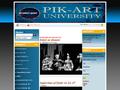 Náhled webu Divadlo PIK-ART