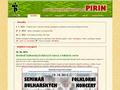 Náhled webu Pirin - bulharské lidové tance
