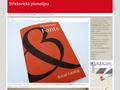 Náhled webu Písmolijna