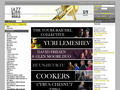 Náhled webu P&J Music