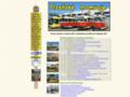 Náhled webu Plzeňské tramvaje