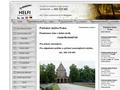 Náhled webu Pohřební služba HELFI