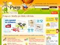 Náhled webu Pongo