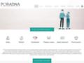 Náhled webu Poradna pro občanství, občanská a lidská práva