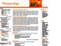 Náhled webu Alergie na potraviny