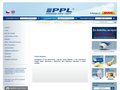 Náhled webu Professional Parcel Logistic (PPL)