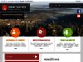 Náhled webu Blue Frogs Prachatice