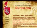 Náhled webu Praecedo Regis