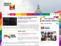 Náhled webu Prague Pride 2011