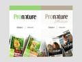 Náhled webu PROnature CZ
