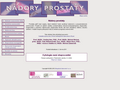Náhled webu Nádory prostaty