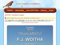 Náhled webu Woitha František - truhlářství
