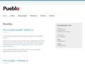 Náhled webu Pueblo