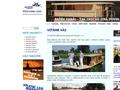 Náhled webu Půjčovna lodí Hamboot