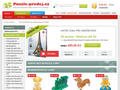 Náhled webu Puzzle-prodej.cz