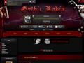 Náhled webu Radio Gothic