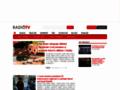 Náhled webu RadioTv
