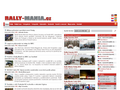 Náhled webu Rally-Mania.cz