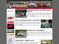 Náhled webu Rallyecross cz