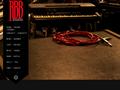 Náhled webu Red Baron Band