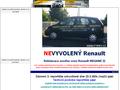 Náhled webu Vyvolený Renault? Tomáš Vratný