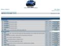 Náhled webu Renault Megane Forum