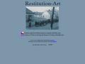 Náhled webu Restitution - Art