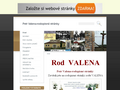 Náhled webu Petr Valena