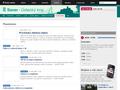 Náhled webu Český rozhlas Sever - Planetárium
