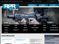 Náhled webu R.P.R. Paintball shop