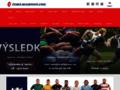 Náhled webu Česká rugbyová unie