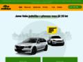 Náhled webu Taxi MAT - Rychlá želva
