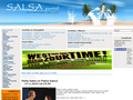 Náhled webu Salsa portál