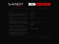 Náhled webu Sandy
