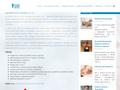 Náhled webu Santé