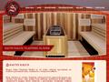 Náhled webu Sauny Salus