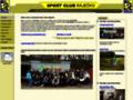 Náhled webu Sport club Ráječko