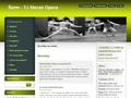 Náhled webu TJ Slezan Opava